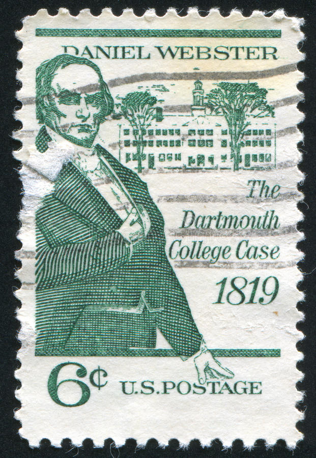 Daniel Webster fotografia de stock royalty free