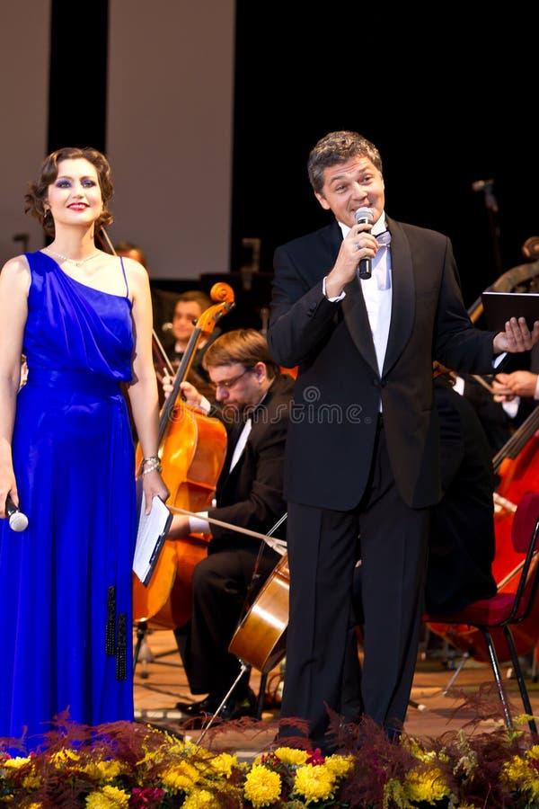 Daniela Nane et Adrian Paduraru images stock