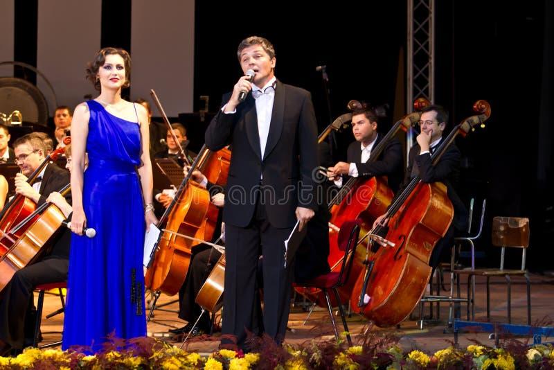 Daniela Nane et Adrian Paduraru images libres de droits