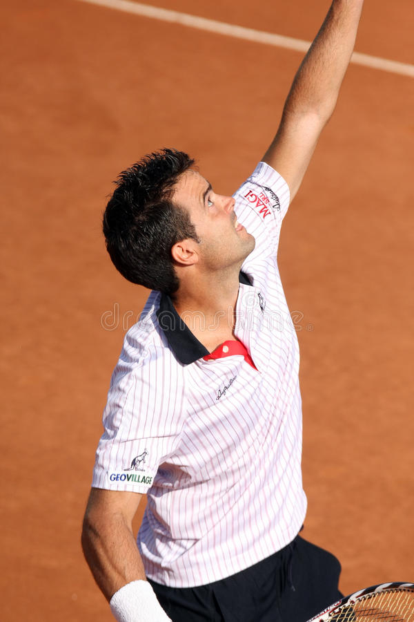 Download DANIELE BRACCIALI, ATP TENNIS PLAYER Editorial Stock Photo - Image: 10553438