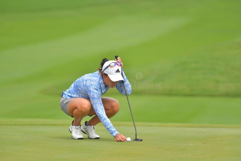 Danielle Kang em Honda LPGA Tailândia 2018 imagem de stock