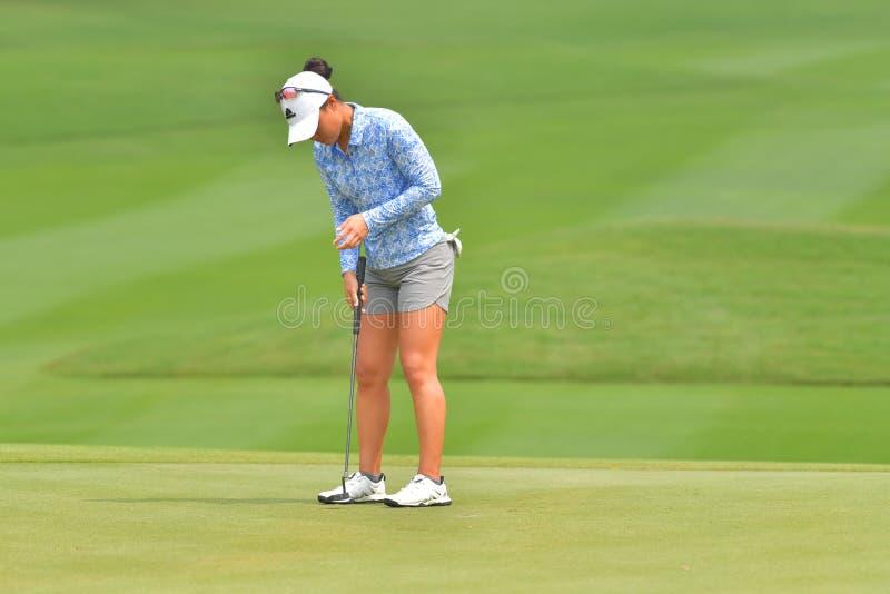 Danielle Kang in Honda LPGA Thailand 2018 royalty-vrije stock foto
