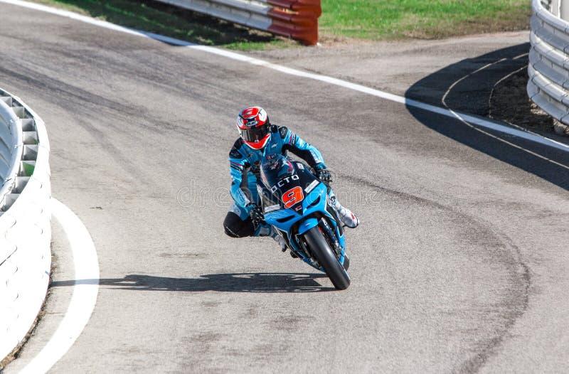 Danilo Petrucci of Octo Ioda Racing team stock photo