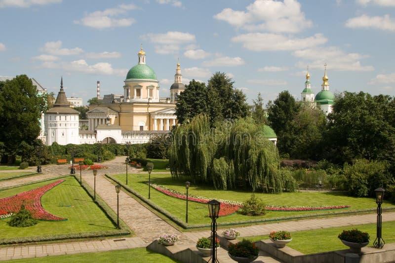 danilovsky μοναστήρι Μόσχα ιερή στοκ εικόνα με δικαίωμα ελεύθερης χρήσης