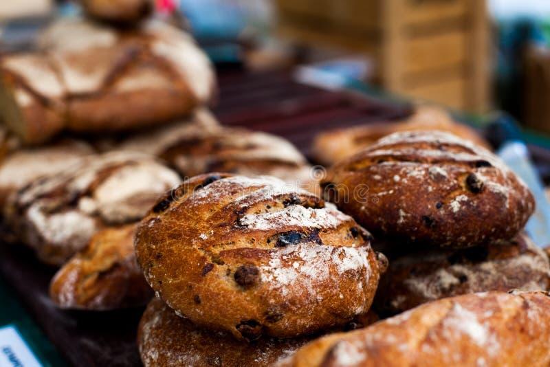 Danish bread. Many types of Denish bread stock image