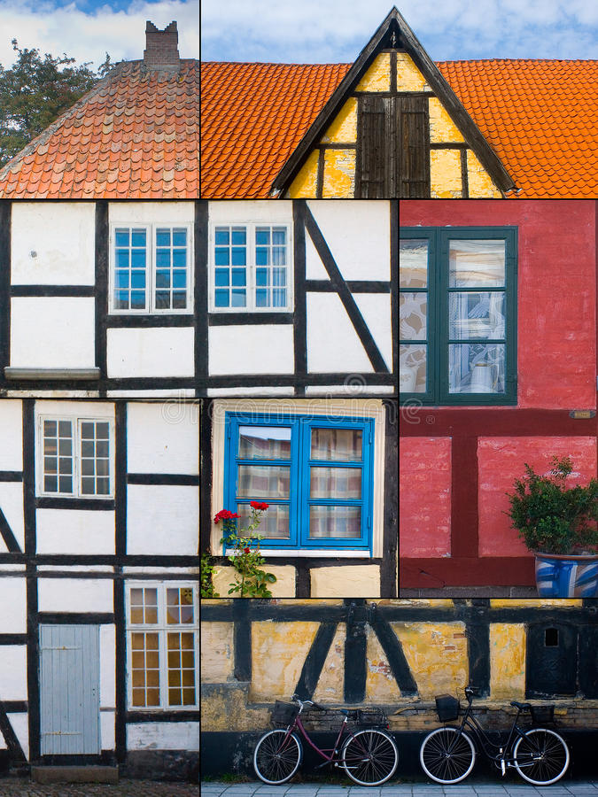 Download Danish building style stock photo. Image of lolland, maribo - 15083392