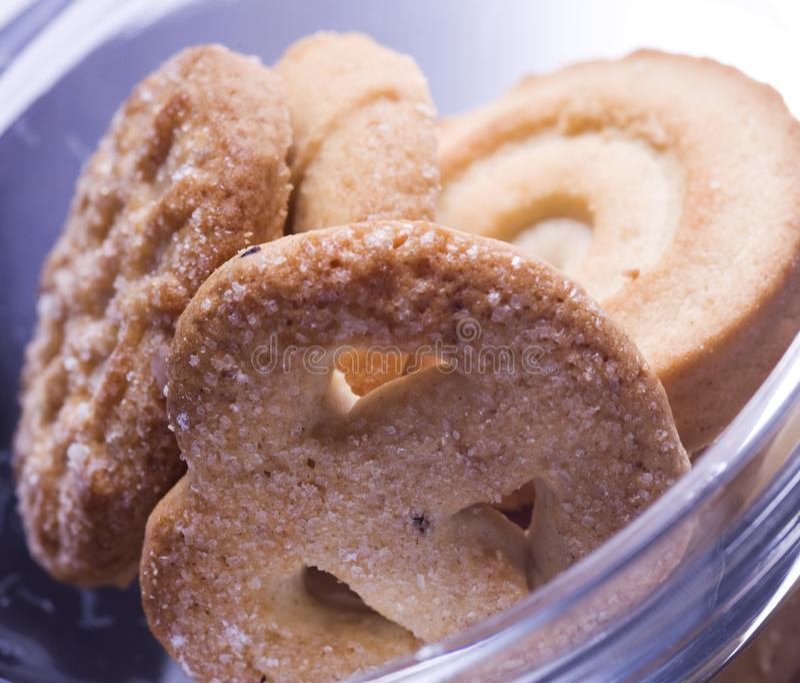 Download Danish butter cookies stock photo. Image of dessert, baked - 7814168