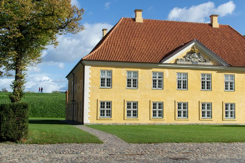 Danish Chief of Defense Official Residence. stock photos