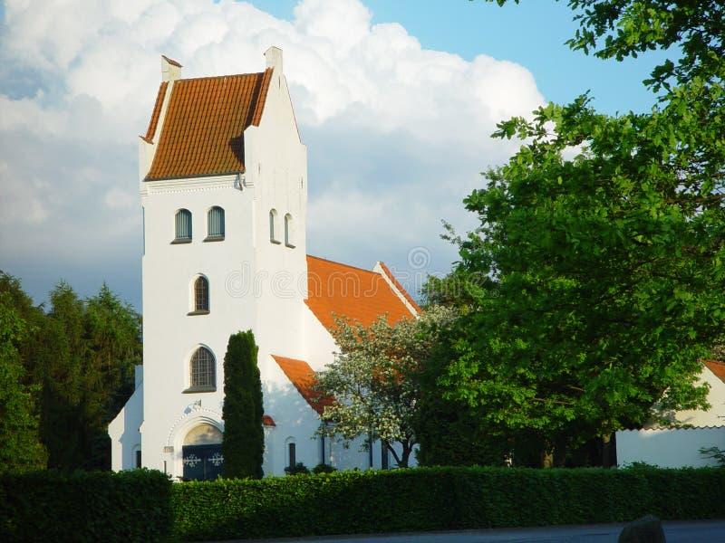 Download Danish church stock image. Image of orange, danish, roof - 15443