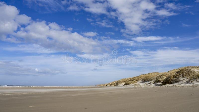 Danish Coast and Beach Line in Grønhoj, near Løkken, North Denmark. Danish Coast and Beach Line in Grønhoj, near Løkken in North Denmark royalty free stock images
