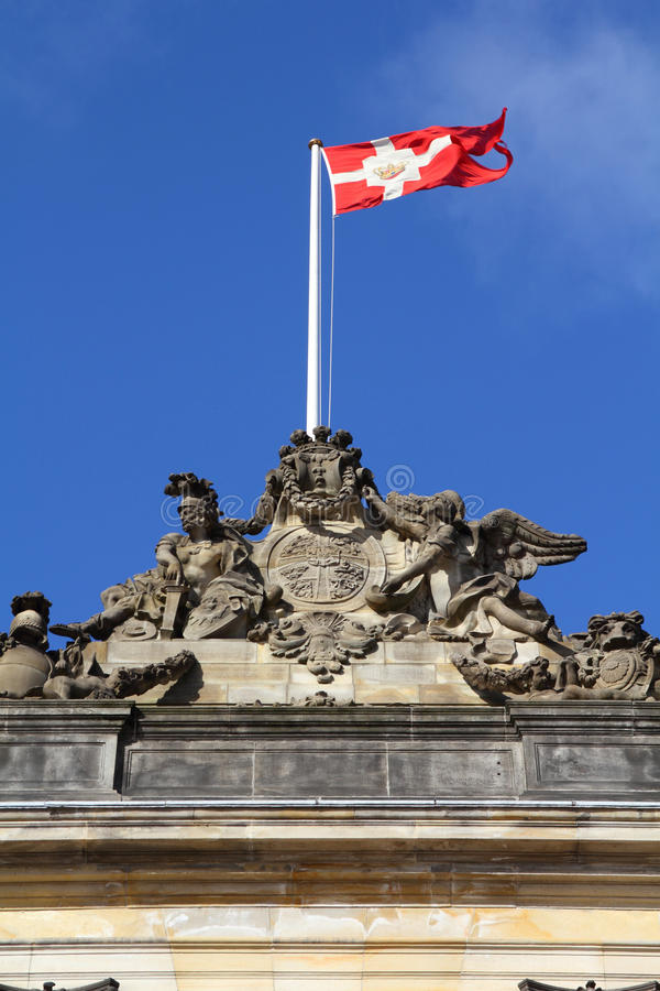 Download Danish flag stock image. Image of urban, sightseeing - 19904495
