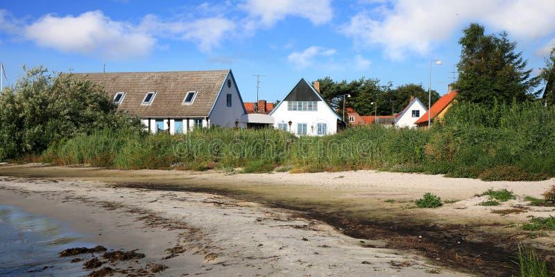 Download Danish  House On Coastline In Snogebaek Stock Photo - Image: 26784406