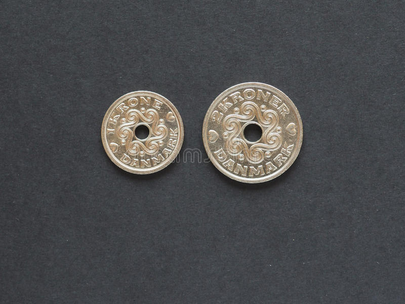 Danish Krone Coins Denmark Stock Image Image Of Currency