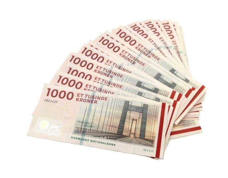 Danish Krone ( 10x1000 DKK ) Stock Image