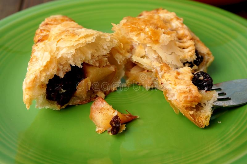 Danish pastries, apple pockets royalty free stock photography