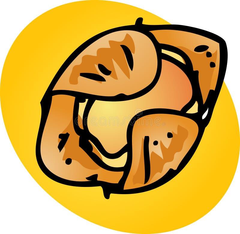 Download Danish pastry stock vector. Illustration of linart, danish - 7181208