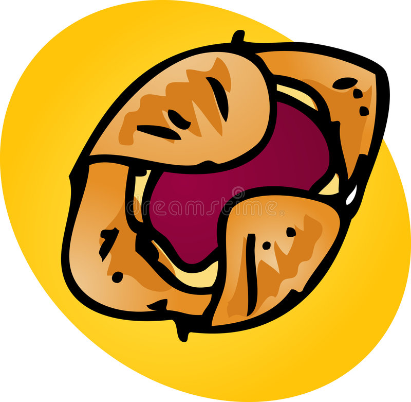 Download Danish pastry stock vector. Illustration of breads, baked - 7181970