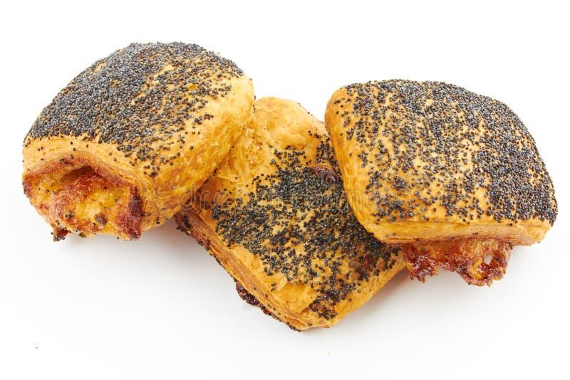 Danish pastry - tebirkes stock photo