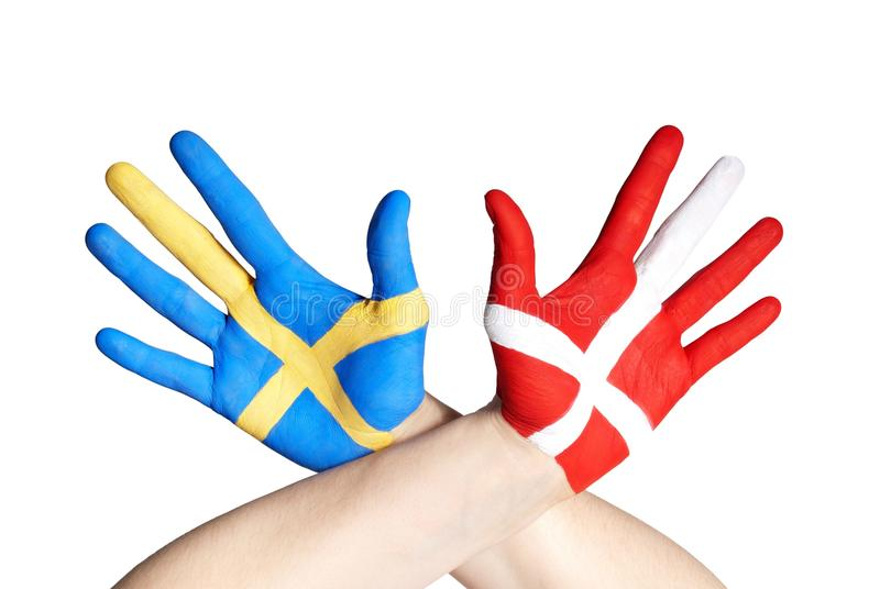 Download Danish and swedish hands stock image. Image of compact - 29897485