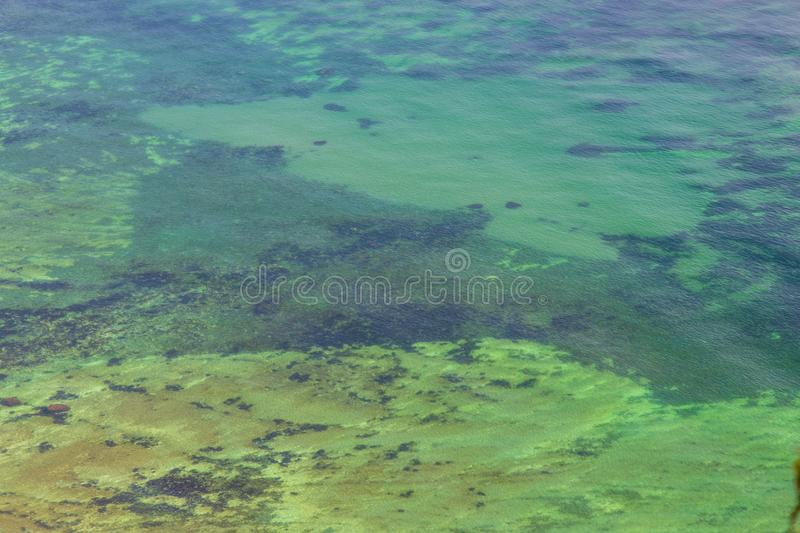 Danish undersea landscape royalty free stock photo