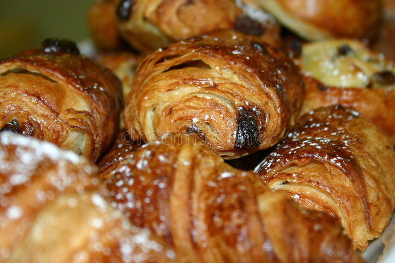 Download Danishes image stock. Image du français, breakfast, croissant - 737161