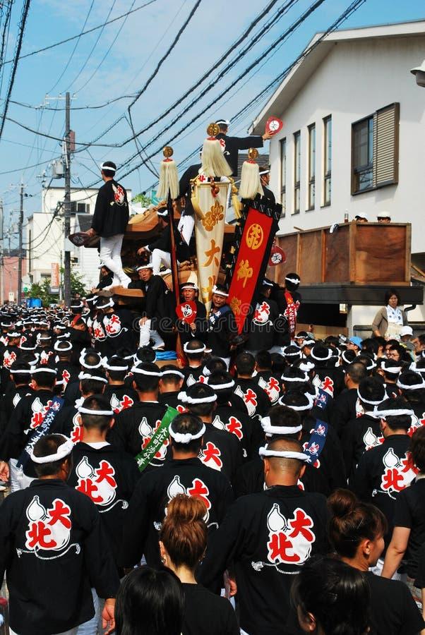 Danjiri festival in Japan stock images