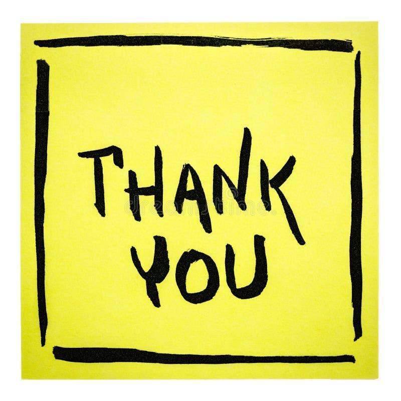 Danke - Anmerkung lizenzfreie abbildung