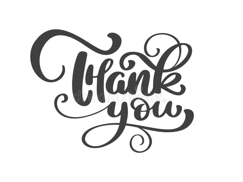 Danke handgeschriebene Aufschrift Hand gezeichnete Beschriftung Dankt Kalligraphie Hintergrund mit Truthahn, dem Aufbau von Obst  vektor abbildung