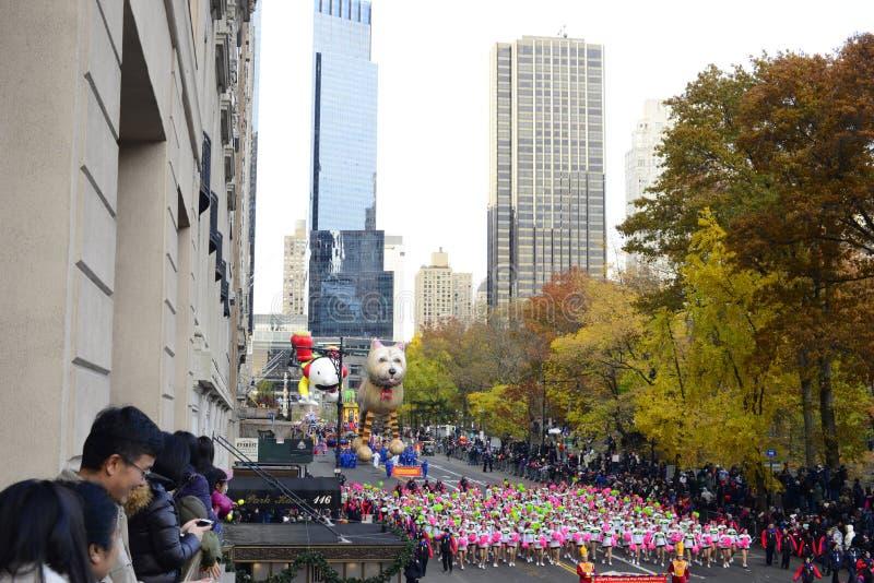 Danksagungs-Tagesparade 2016 - New York City stockbild