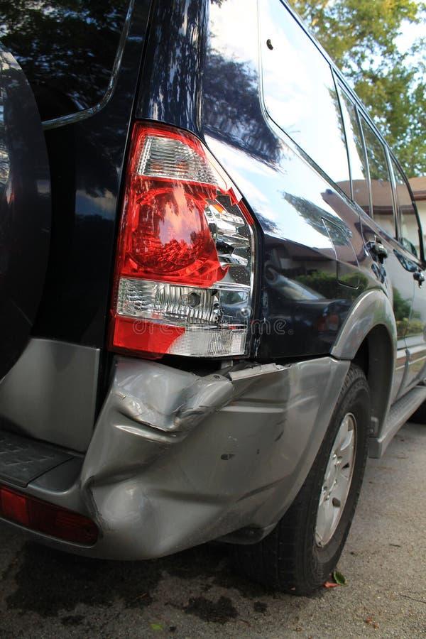Danno dell'automobile immagine stock