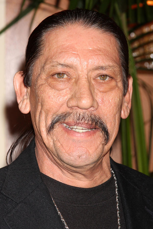 Danny Trejo. Arriving at the Ninth Annual AARP the Magazine`s Movies for Grownups Awards Gala Beverly Wilshire Hotel Beverly Hills, CA February 16, 2010 � stock photo