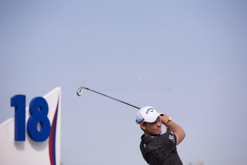 Danny Willet - english professioanl golfer royalty free stock photos