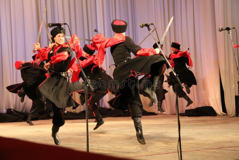 Dans av krigare royaltyfria foton