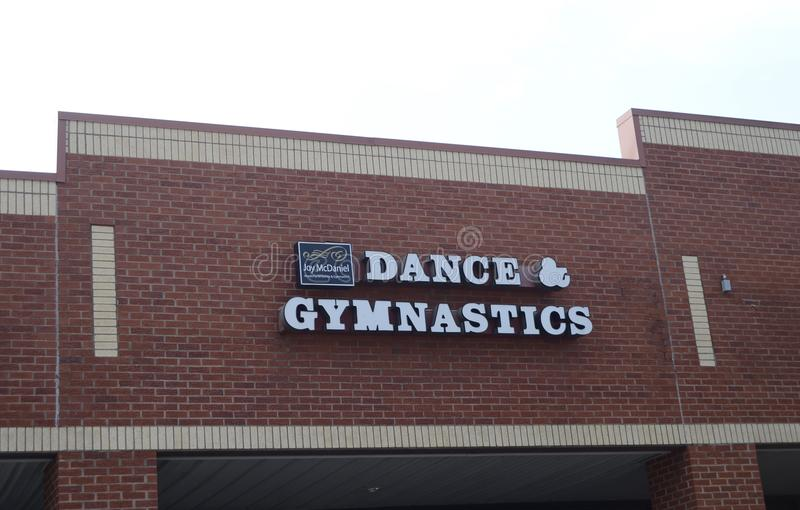 Dans en Gymnastiek, Arlington, TN stock afbeelding