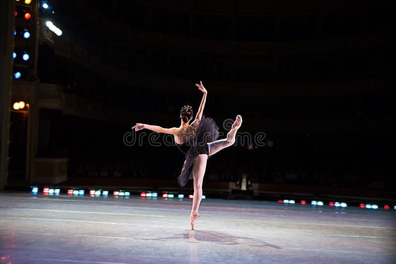 Dans för Prima ballerina royaltyfri foto