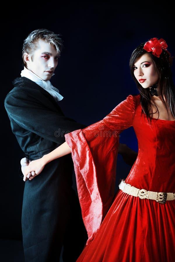dans halloween royaltyfri bild