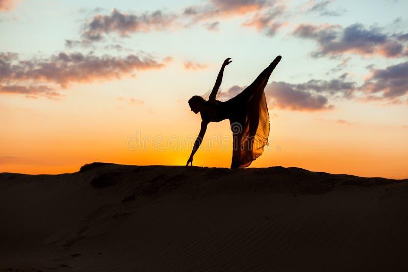 Dans i solen royaltyfria foton