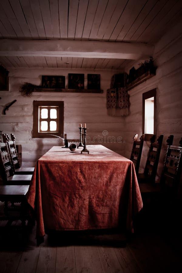 Dans la maison du paysan photos libres de droits