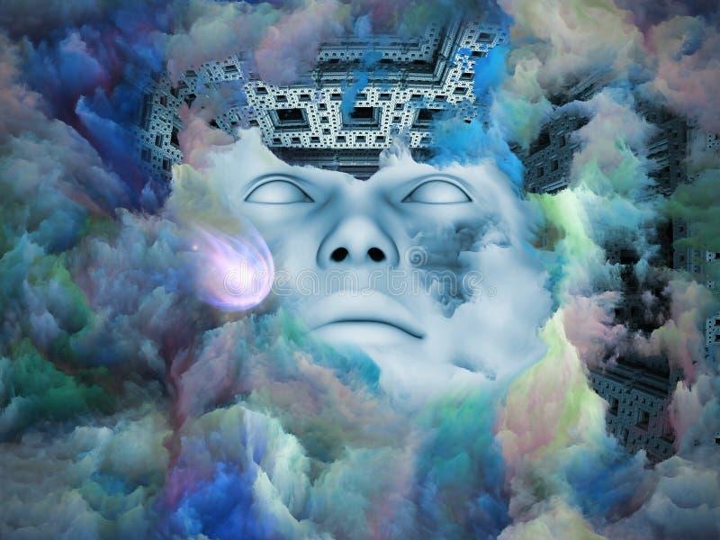 Dans la terre des rêves oubliés. illustration libre de droits