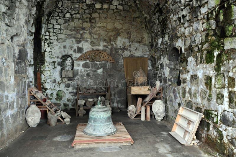 Dans le musée du monastère de Tatev en Arménie photos libres de droits