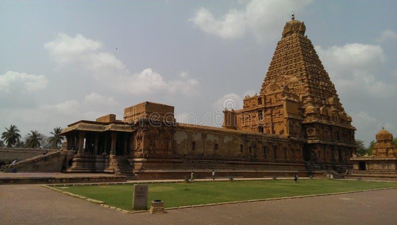 Dans le temple d'Inde photo stock
