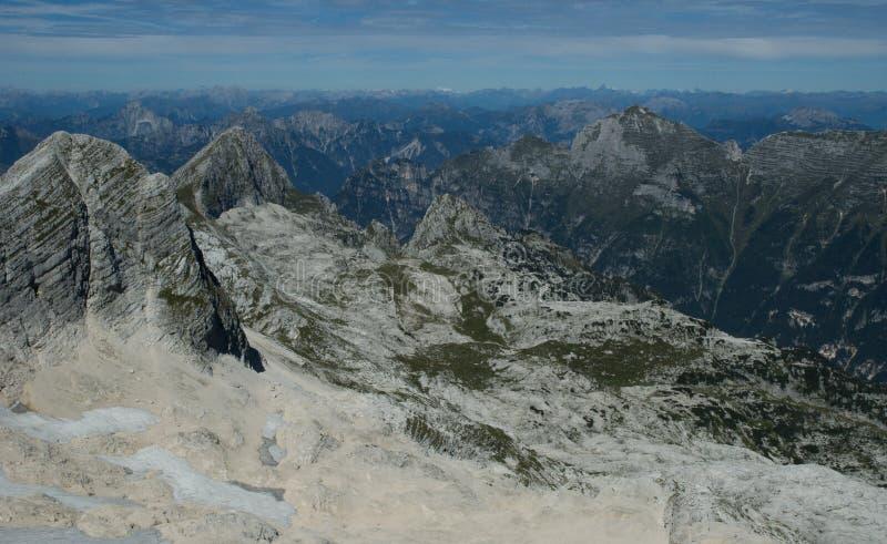 Dans les Alpes de la Slovénie photographie stock libre de droits