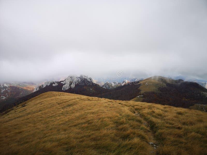 Dans les montagnes croates photo libre de droits