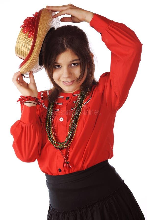 Dans, Senorita, Dans royalty-vrije stock afbeelding