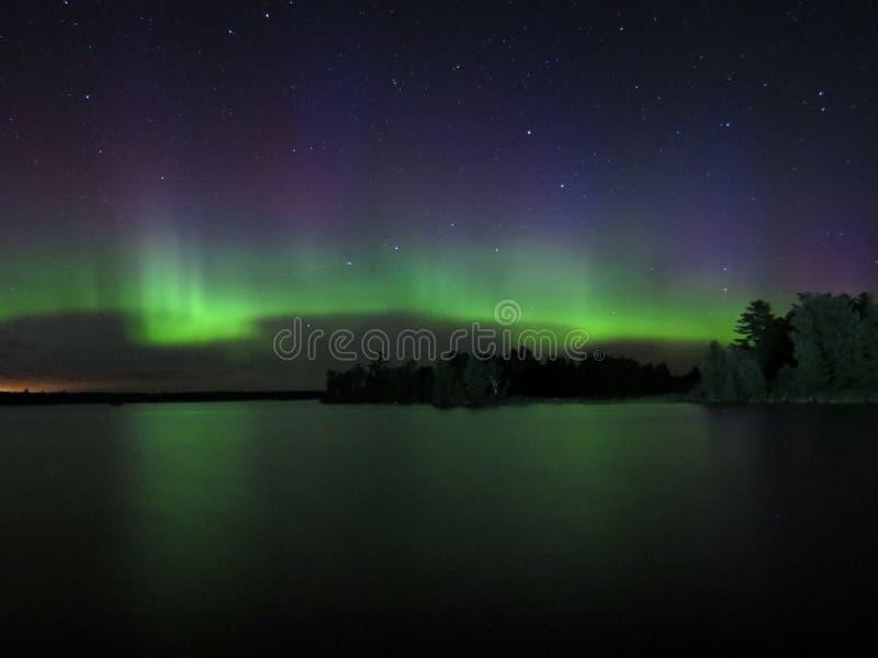 Dans van de Noordelijke Lichten royalty-vrije stock afbeelding