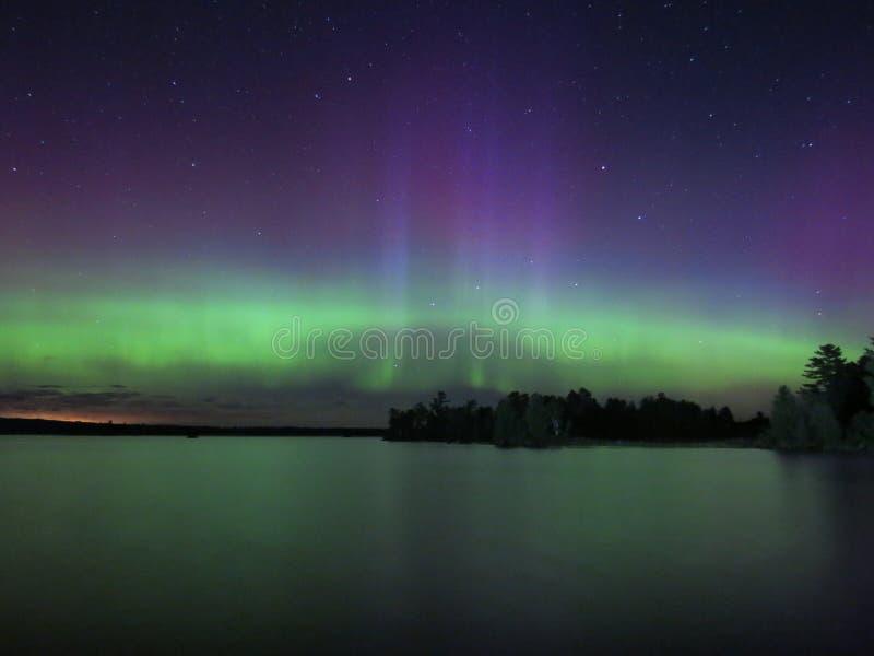Dans van de Noordelijke Lichten royalty-vrije stock afbeeldingen