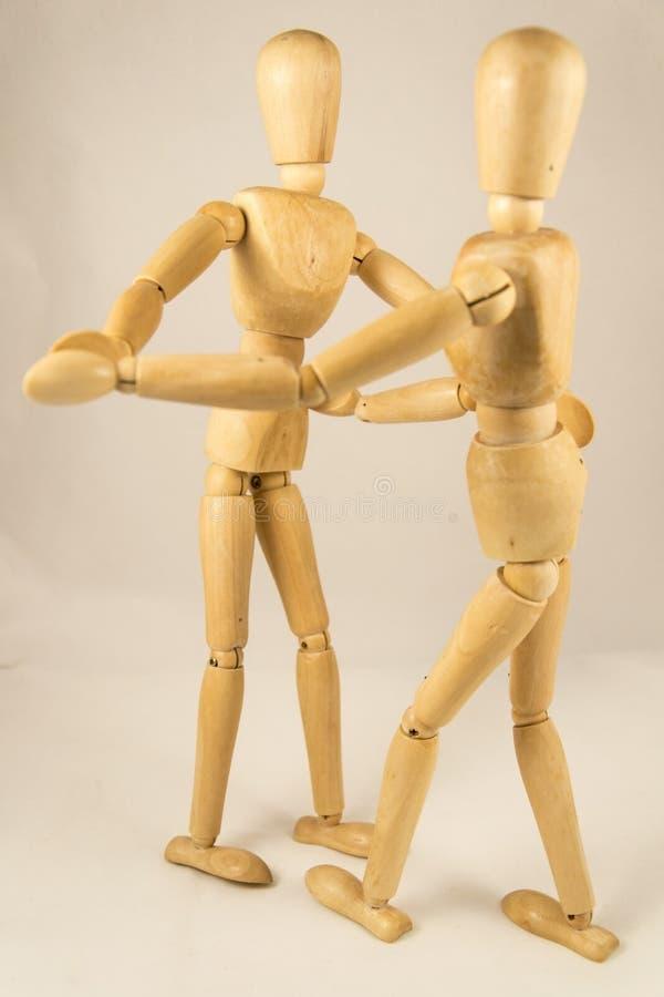 Dansa för attrapper royaltyfri bild