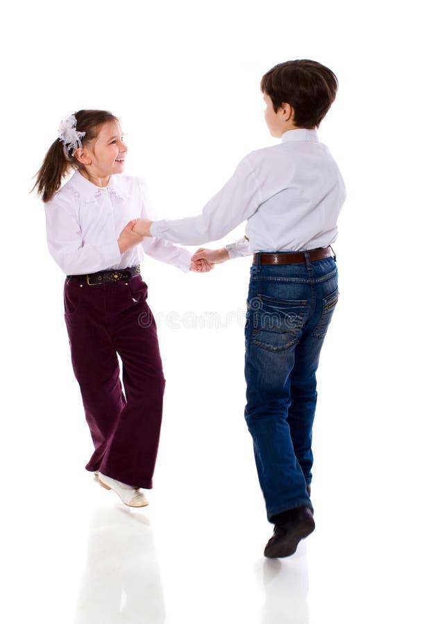 dansa för barn royaltyfria bilder