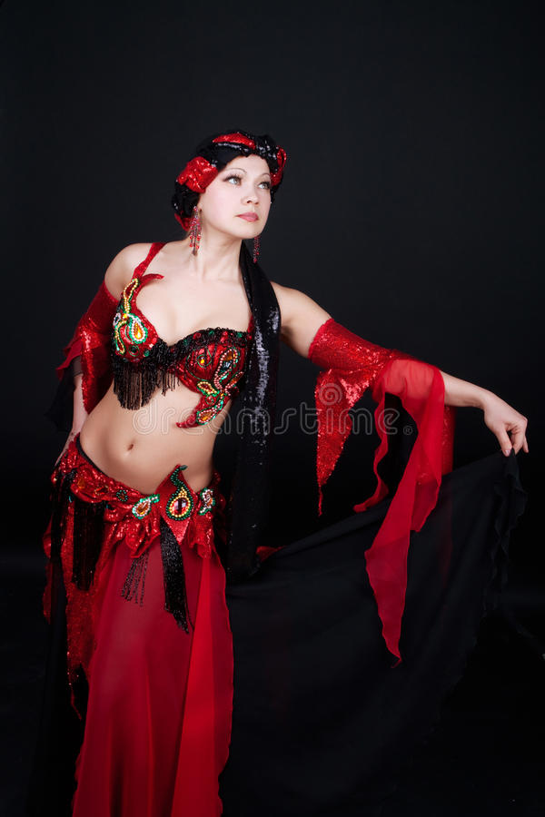 dansa henne kvinnan royaltyfri fotografi