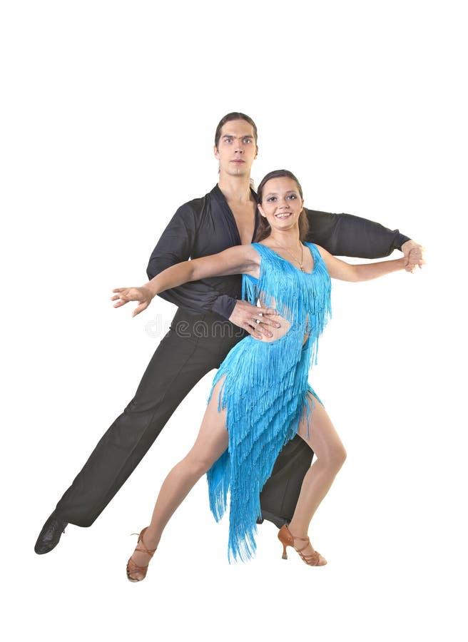 Dansa par royaltyfria bilder
